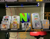 Nintendo 64 Cartridge Display Stands