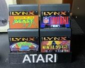 Atari Lynx Game Cartridge Display Stand