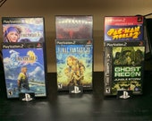 Playstation 2+ Game Box Display Stands