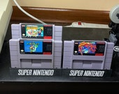 Super Nintendo Cartridge Display Stands