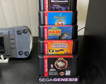 Sega Genesis Cartridge Showstand