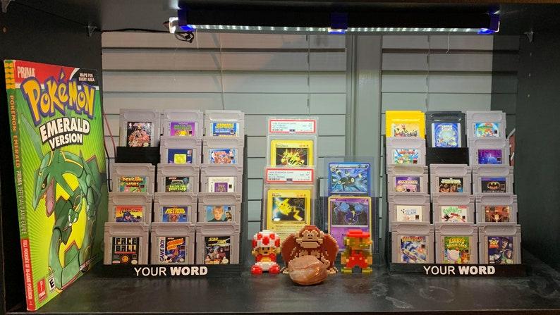 Game Boy Cartridge Display Stand