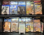 Playstation 2, 3, 4 Game Box Display Stands