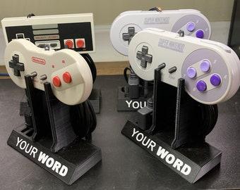 NES/SNES Controller Display Stands