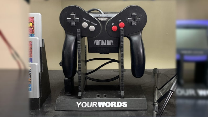 Virtual Boy Controller Display Stand image 0