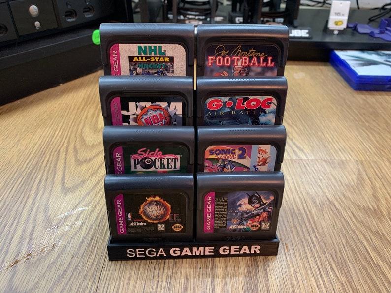 Sega Game Gear Cartridge Display Stands image 0