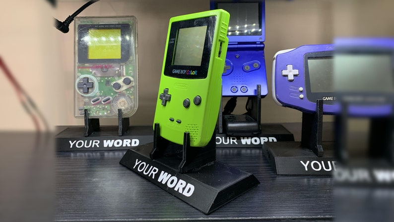 GameBoy Color/Pocket/Light Display Stands image 0