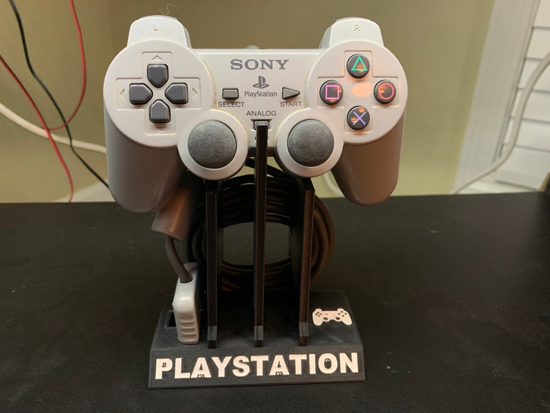 Playstation Controller Stands PS1  PS3 WITH analog sticks image 0