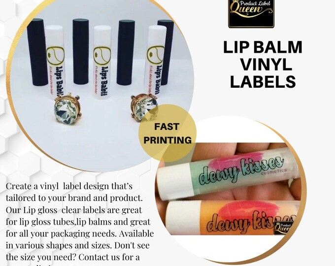 Chapstick, Lip Balm Labels