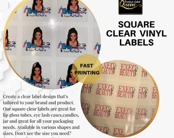 Clear Logo Labels (square)