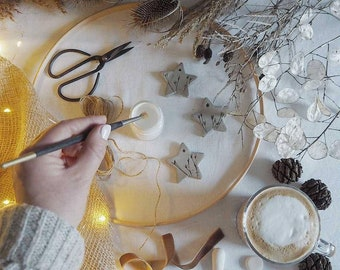 DIY Wreath Kit, make your own foraged wreath. Reusable wreath components kit (foliage not included) includes instructions