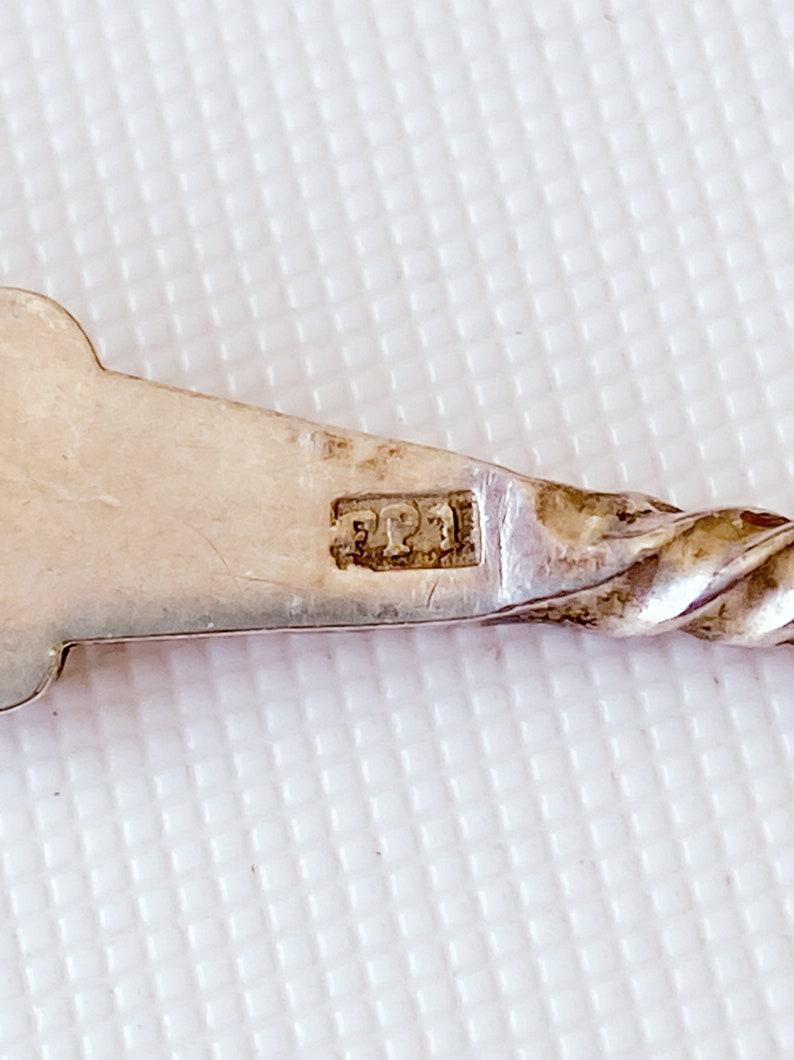 10 cuillères d'argent vintage 835, vers 1900, 10.2cm, 66g