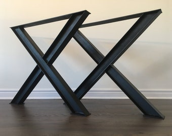 pied de table industriel etsy. Black Bedroom Furniture Sets. Home Design Ideas