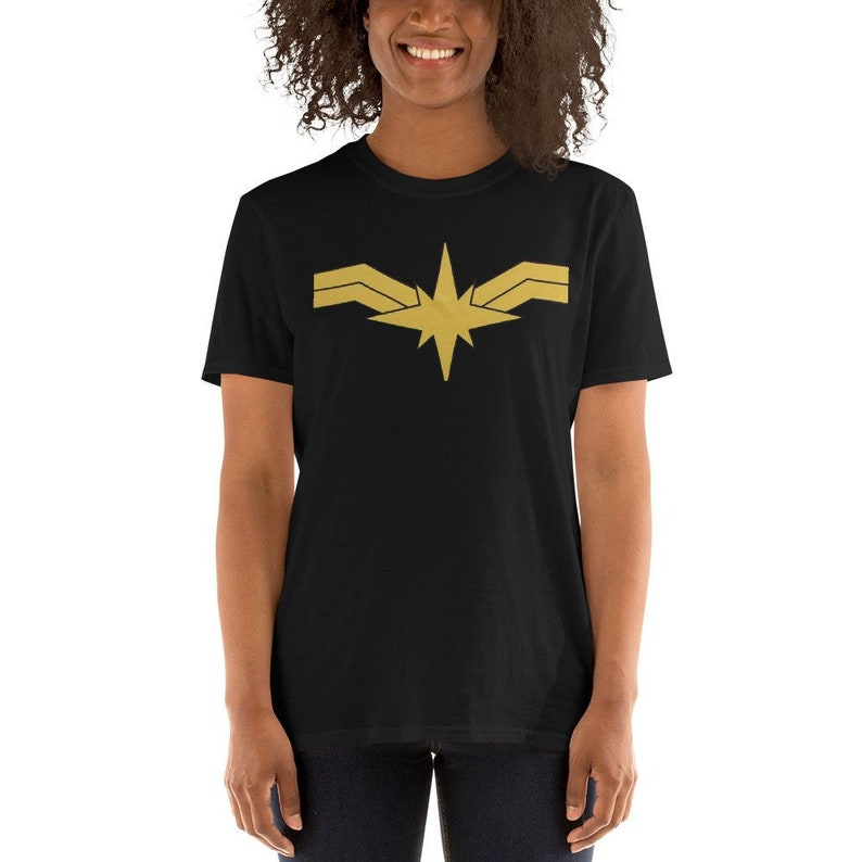 dd11c9ce Captain Marvel Powers womens Shirt Captain Marvel Costume | Etsy