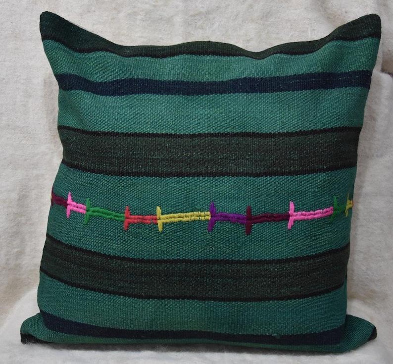 Pillow Rugs Kilim Kilim Pillow Pillows 70x70 Cm 770- Kilim Pillow Turkish Kilim Pillows Rug Pillows Kilim Rug 28x28 inch