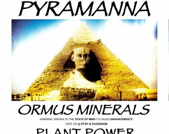 PLANT POWER (ormus mineral plant food)