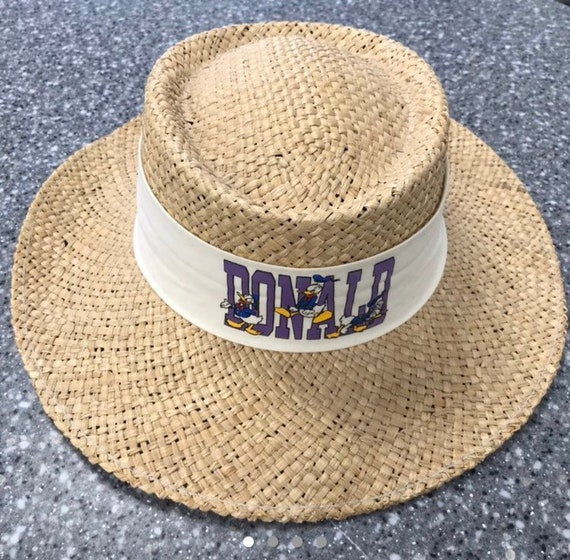 Vintage and Rare Donald Duck SunHat