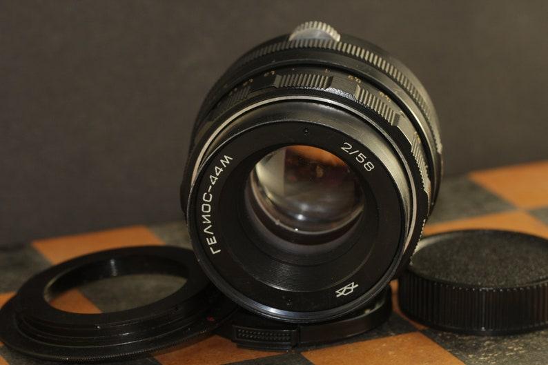 Helios-44m 58mm f 2 Helios 44m  258mm Helios 44-2  258mm M42 Lens mount adapter for Canon EOS 5D 300D 6D 1100D