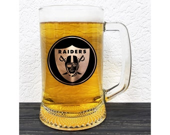 2ccca6efe1d4 Oakland Raiders Mug - American Football Beer Stein - Fathers Day Gift -  Gift For Him - Personalized Sport Gift Tankard - Gift For Men