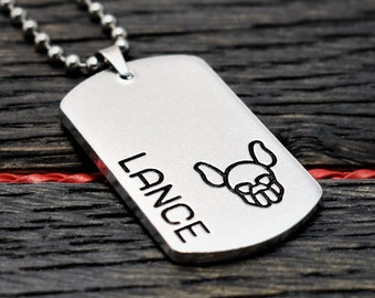 Personalised Pup Necklace