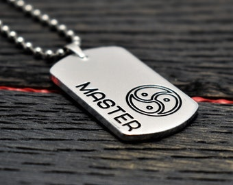 Master BDSM Necklace, Military Style