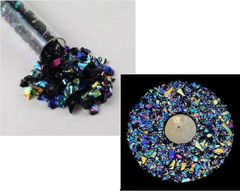 0.88 ounces Glass Fusing CoE 96-25g Kugler Glass Frit - Sparkle Lampwork Gold Fluss Glass Frit in Size K3 Glass Blowing