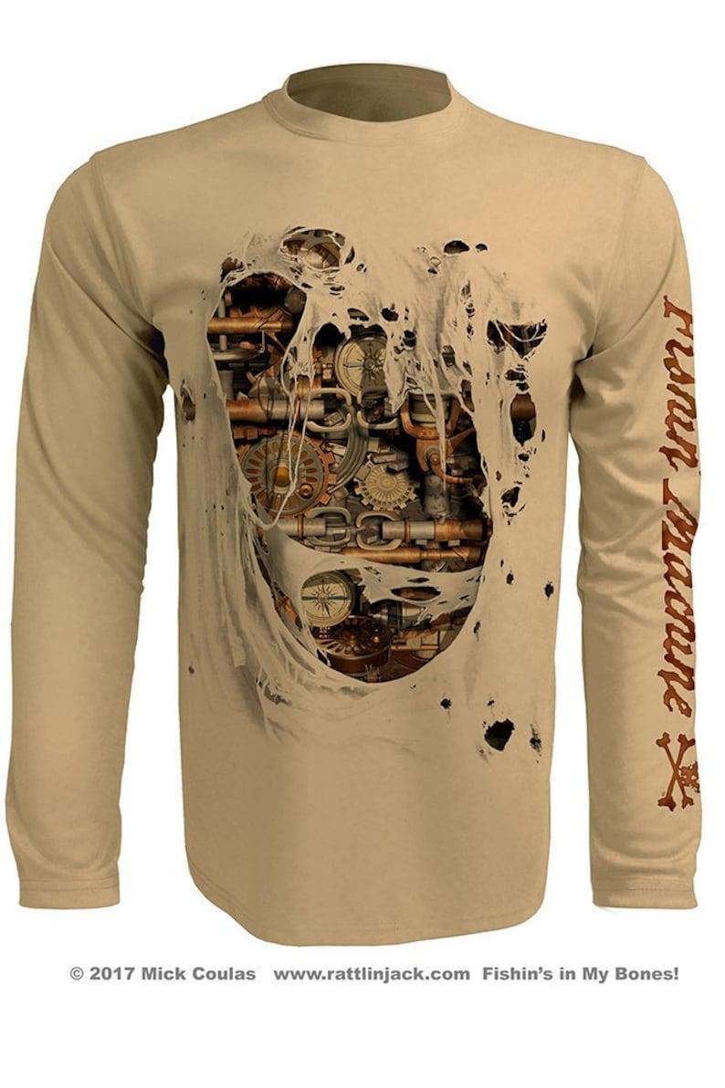 Men's Fishing Machine UPF Fishing Shirt Long Sleeve image 0