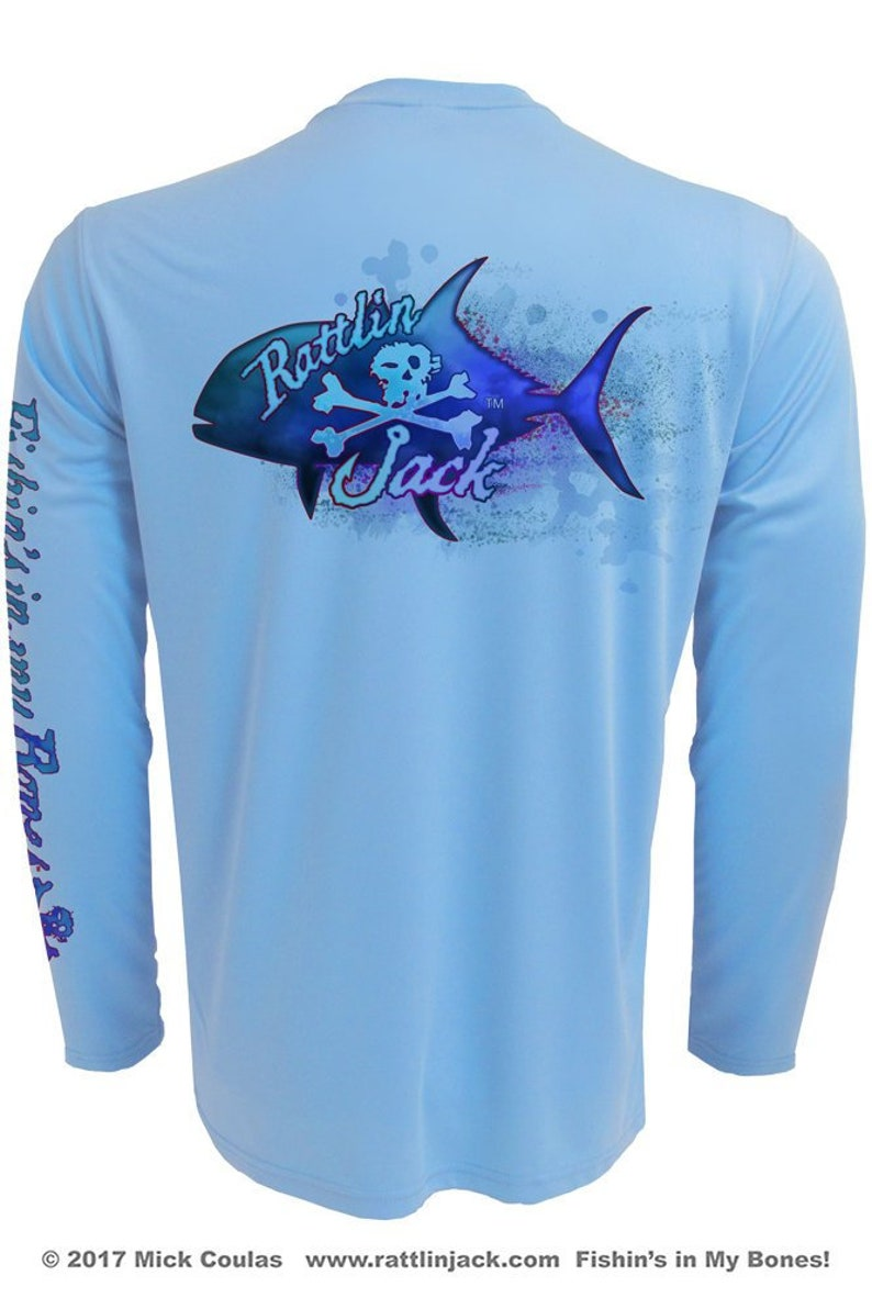 Men's Jack Crevalle UPF 50 Fishing Shirt Long Sleeve image 0