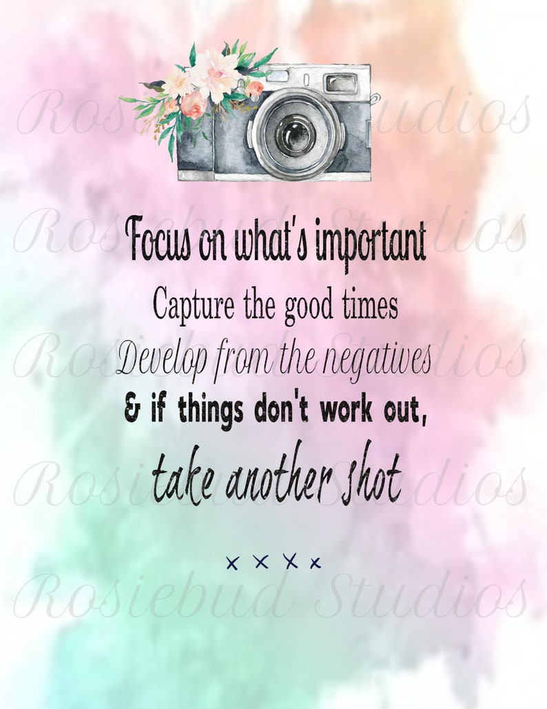 Focus On Whats Important Quote Quotes And Sayings Etsy