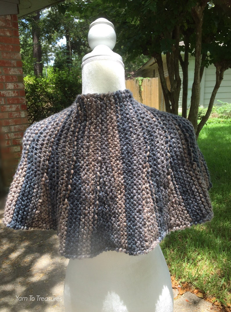 Hand Knit Bree/'s Cape Outlander Inspired Hand Knit Outlander Inspired Brianna/'s Cape Brianna Outlander Inspired Capelet