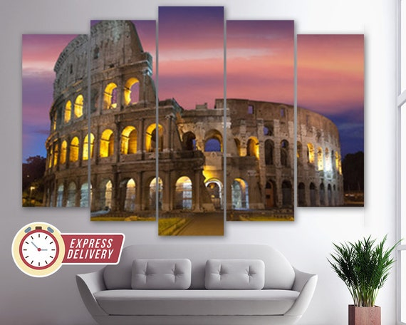 COLISEUM CANVAS PRINT PICTURE WALL ART FREE UK POSTAGE VARIETY OF SIZES