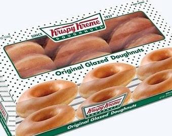4b02d9ad0e4 Krispy Kreme Original Glazed Doughnuts - 1 Dozen