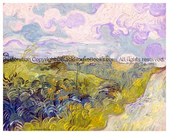 coj/ín de Vincent van Gogh/ /Landscape