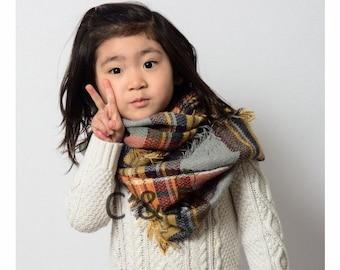 kids Scarves or Wraps Kids scarf | Etsy