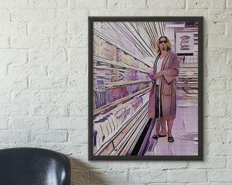 The Big Lebowski Art Silk Canvas Wall Poster 12x18 24x36 inch 04