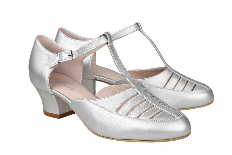 Vintage Shoes, Vintage Style Shoes Frontline Steal Dance - swing dance shoes $171.02 AT vintagedancer.com