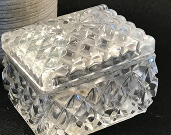 Anna Hutte Bleikristall Swan Trinket Boxes
