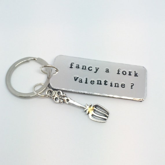 FIANCE Keyring Keyfob I Love You Birthday Valentines Novelty Fun Gift Keepsake