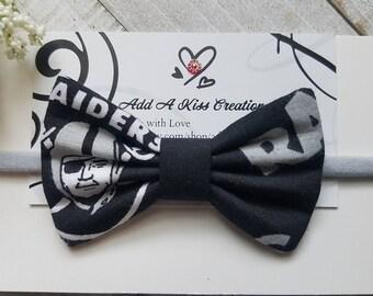 Raiders Ott Hair Bow