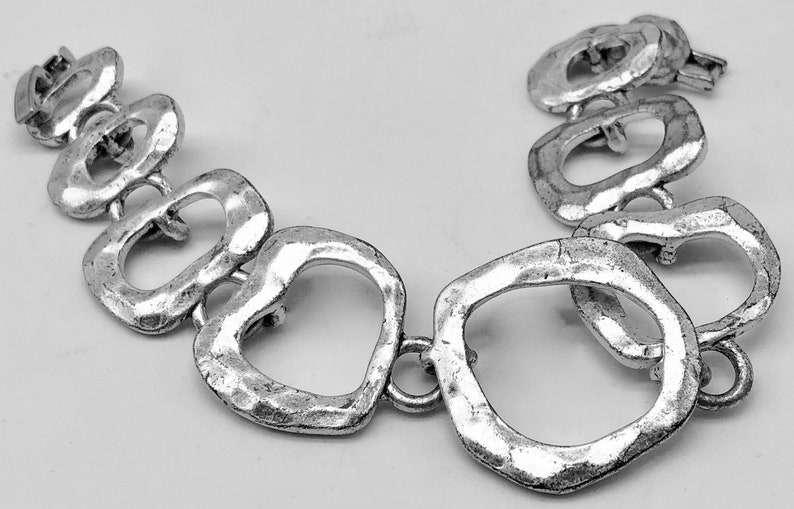 Lia Sophia Silver Tone Link Bracelet