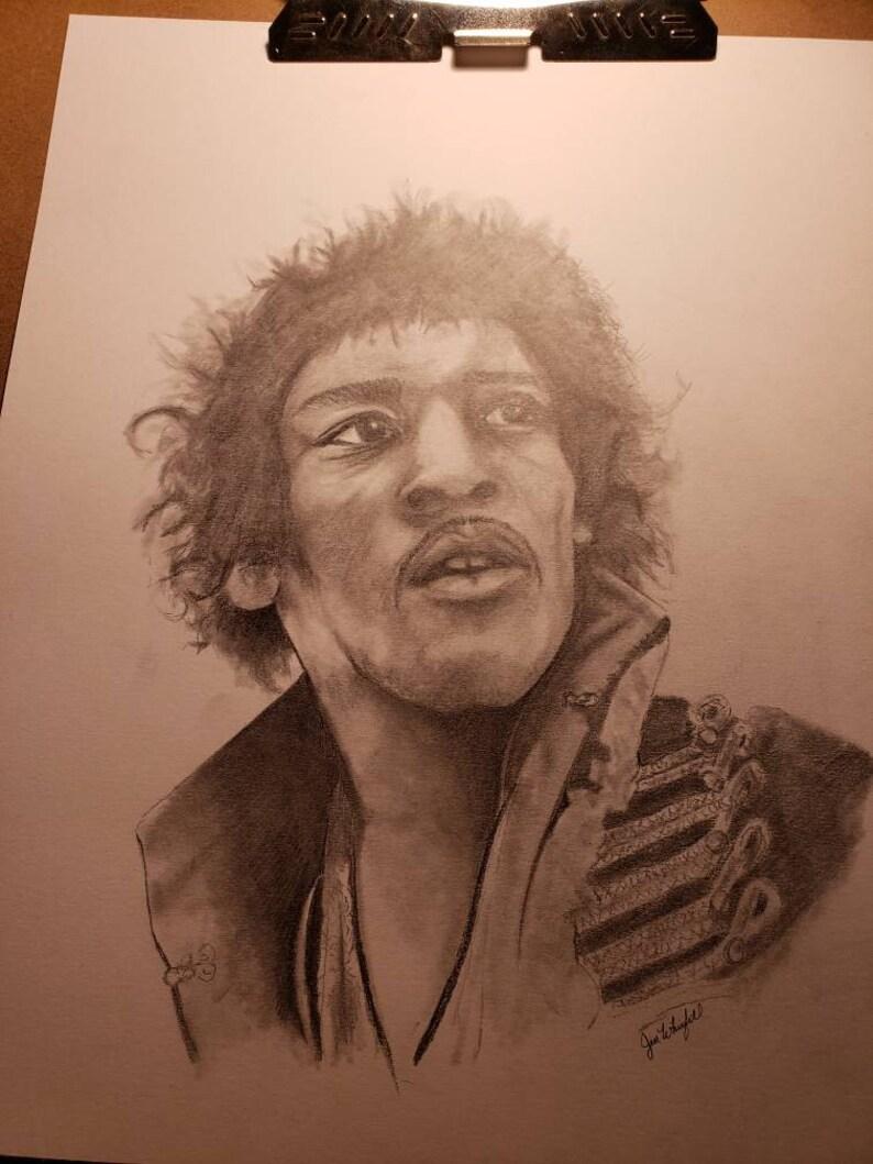 Jimi Hendrix Drawing