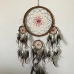 Large Forest Spirit Dreamcatcher//Wall Hanging//Spiritual