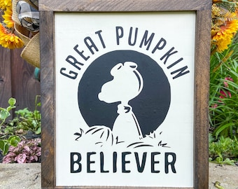 Great Pumpkin Halloween, Charlie Brown, Snoopy Wall Decor, Peanuts Halloween Decor, Great Pumpkin Charlie Brown, Halloween Wall Decor
