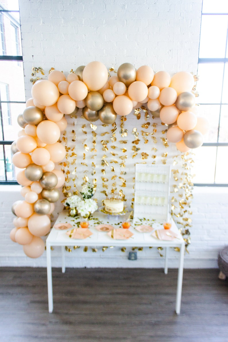 Create Your Own Colorful Balloon Garland ArchDIY Balloon Garland Arch KitChoose Your Own Color Balloon Garland