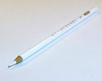 White Marker Pencil to make guide lines