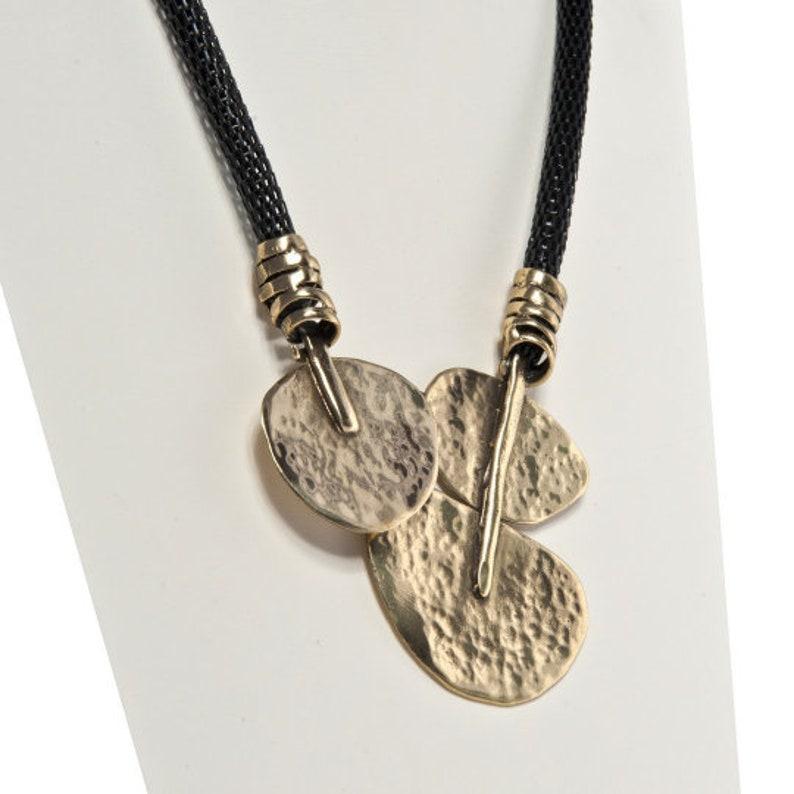 Afife Hypoallergenic Bronze Ladies Necklace fashion handmade jewellery authentic designs boho chic hippy necklace