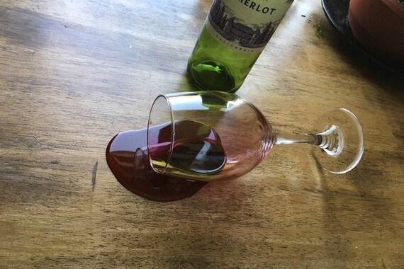 Fake Wine Glass Spilled Drink Prank | Etsy