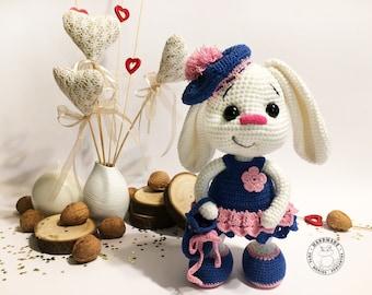 32+ Creative Bunny Crochet Pattern - crochetnstyle.com | 270x340