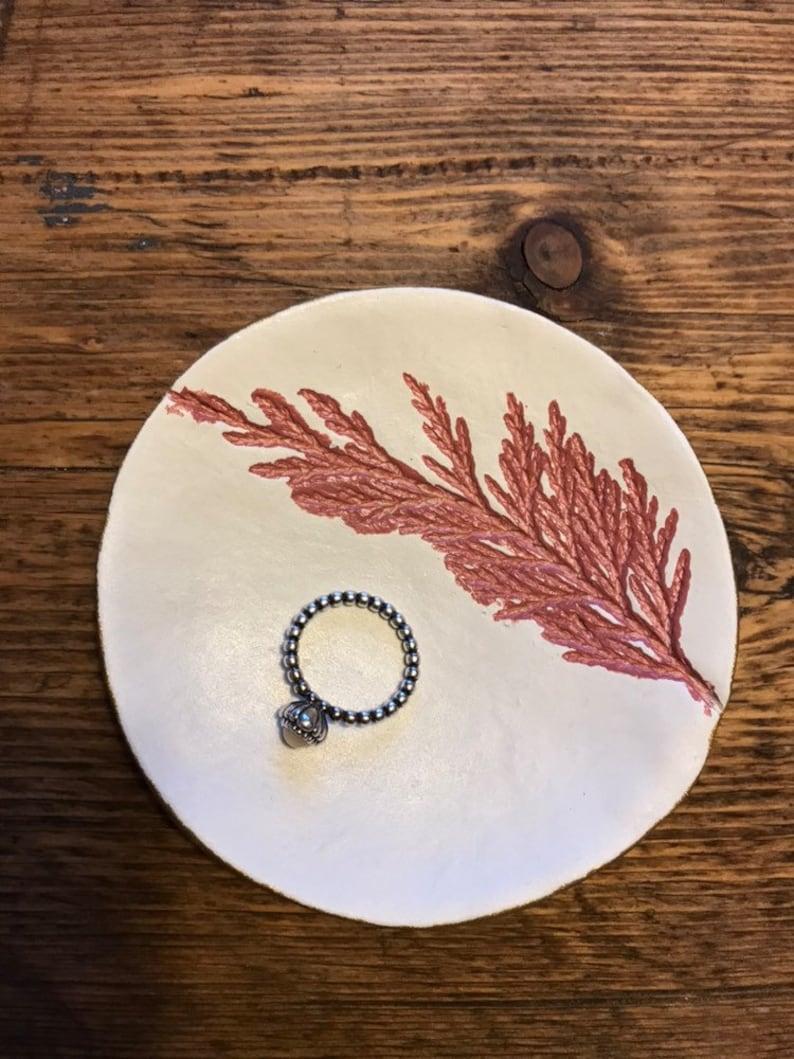 a perfect Valentines present CustomPersonalised Clay jewelleryringearringsbracelets dish