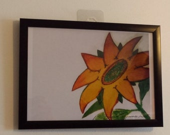 Lessons from a SUNFLOWER - A4 Matte Print